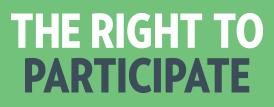 Right to participate logo